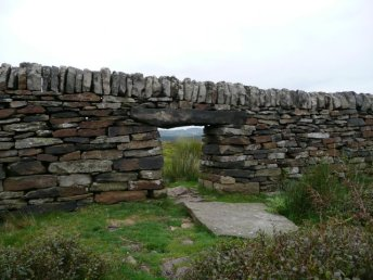 Sheep_gate_in_the_dry_stone_wall_-_geograph.org.uk_-_942651
